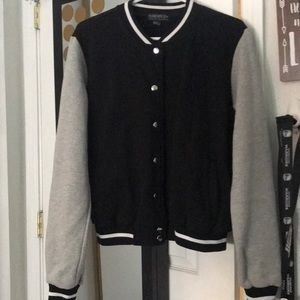 Letterman style forever 21 jacket 2x